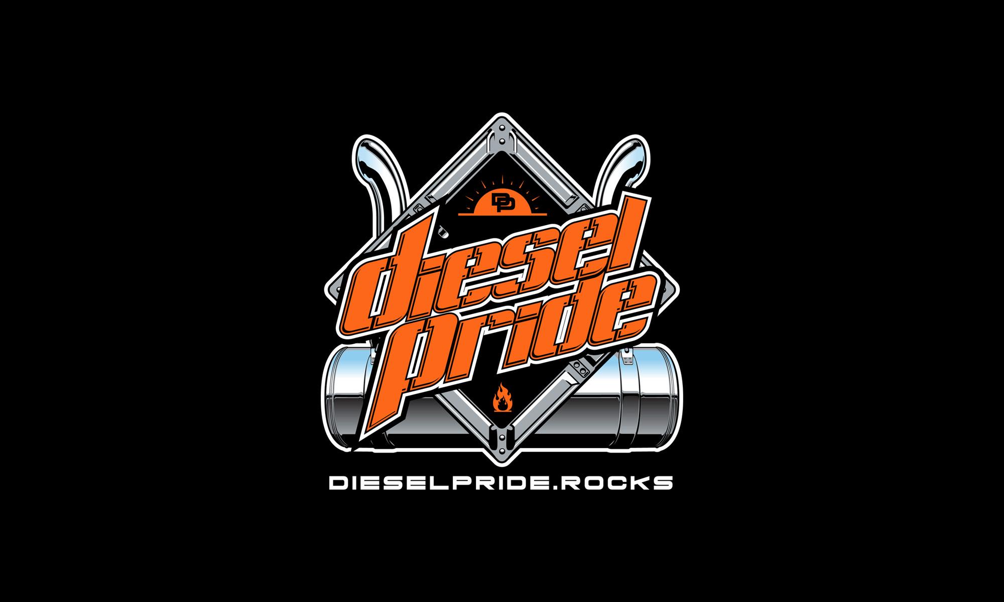 new design the placard diesel pride