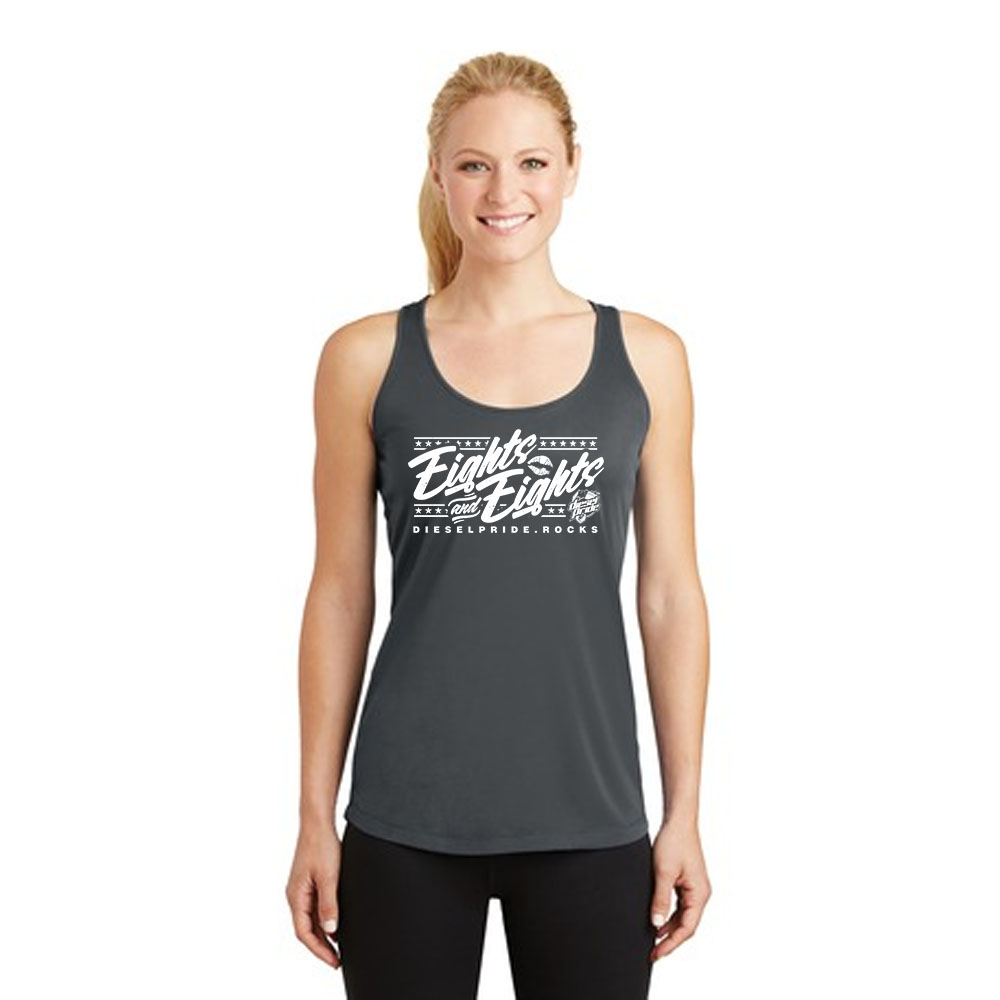 The Eights and Eights: Charcoal Tank