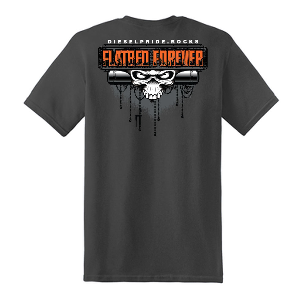 Flatbed Forever: Charcoal Tee